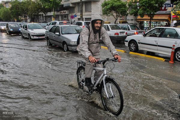 دمای گلستان ۱۲ درجه کاهش می یابد/احتمال وقوع سیلاب
