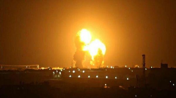 فیلم / نخستین تصاویر از شلیک موشک های سپاه به پایگاه ارتش تروریست امریکا در عراق