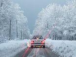 محدودیت تردد در محور ناهارخوران به روستای زیارت/مردم برای برف بازی به زیارت نروند