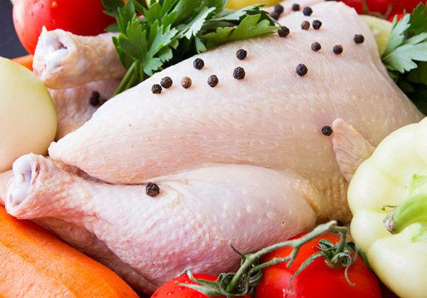 قیمت مرغ به ۸۳۵۰ تومان رسیده است