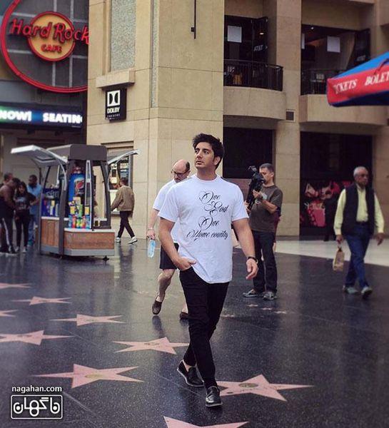 فرزاد فرزین در هالیوود - جدیدترین عکس فرزاد فرزین در آمریکا 2016