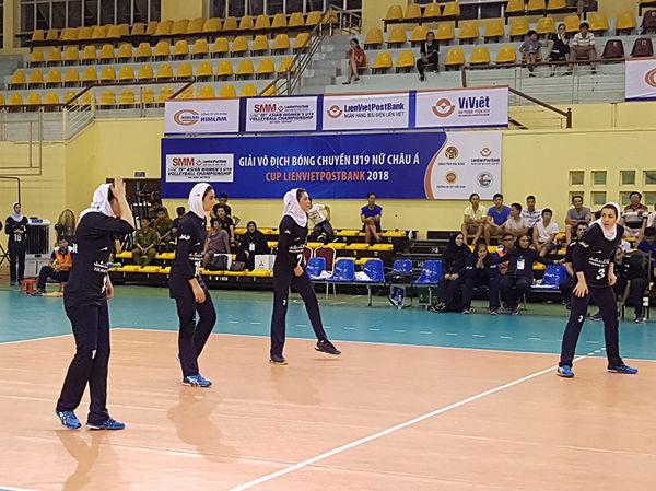 والیبالیست های ایرانی به عنوان هشتمی اکتفا کردند