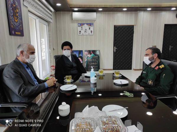 رئیس کل دادگستری گلستان با فرمانده سپاه نینوا استان دیدار کرد