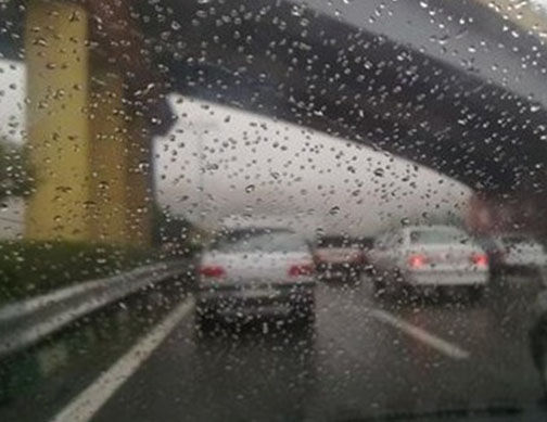 بیشترین میزان بارندگی در کردکوی/ ادامه بارش ها تا عصر امروز