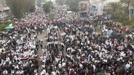 فیلم/ قیام مردم عراق علیه آمریکاییها