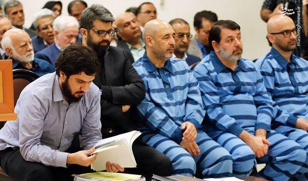 سرمایه گذار شهرزاد و داماد وزیر صنعت در دادگاه! + عکس