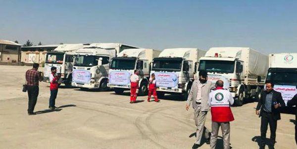 ارسال محمولهزیستی 26 میلیارد ریالی هلال احمر خراسانرضوی به مناطق سیلزده گلستان