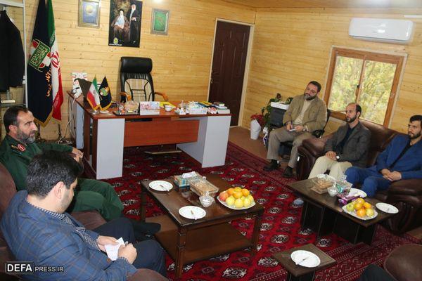 تپه نورالشهدای گرگان قطب فرهنگی استان گلستان است