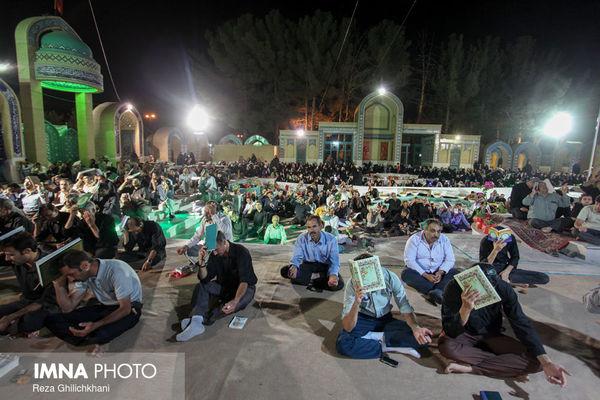 مراسم احیای شب ۲۱ ماه رمضان در گلستان