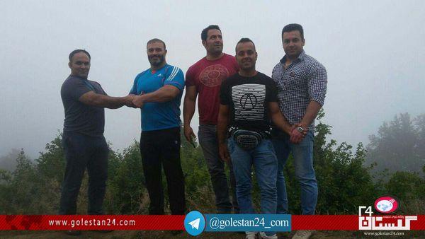 دست « قویترین مردان ایران» کینه را از دامن دو خانواده در کردکوی زدود