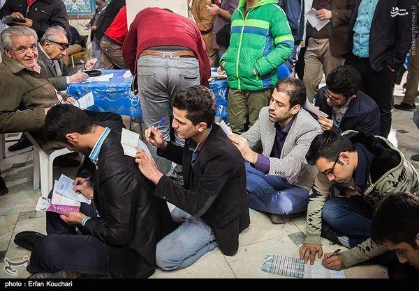 عکس/ رأی نویسی جالب شرکتکنندگان در انتخابات