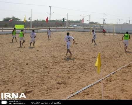 قابت های فوتبال ساحلی جوانان کشور