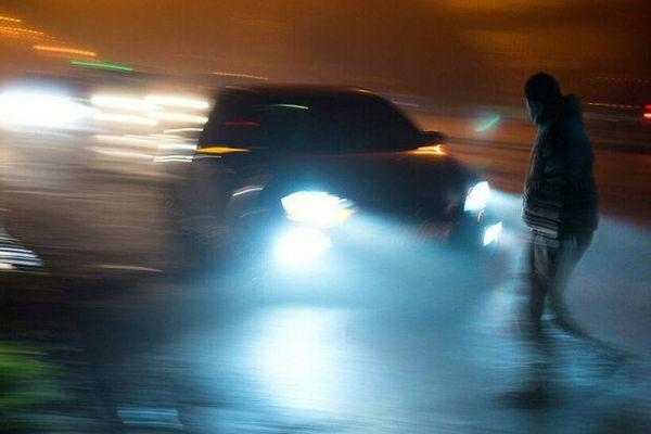 فوت عابر پیاده بر اثر تصادف در جاده آزادشهر- مینودشت