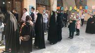 صفهای طولانی مردم گلستان در انتخابات ۱۴۰۰ / امید مردم به صندوقهای رأی برای بهبود وضعیت اقتصادی