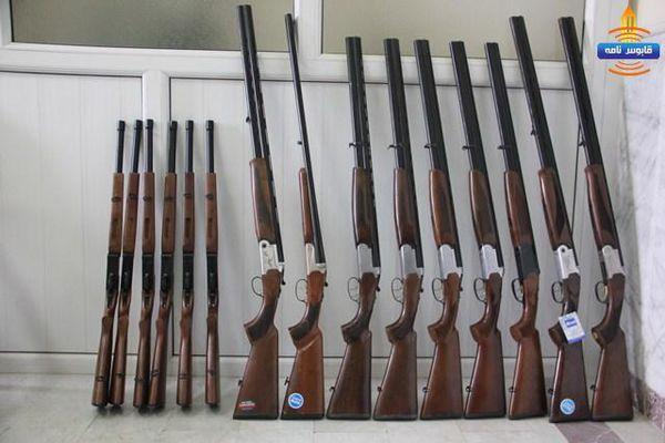 کشف 5 قبضه سلاح شکاری غیر مجاز در کلاله
