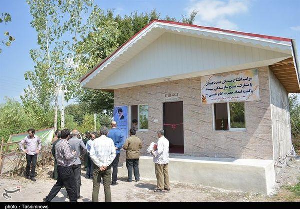 ۳۴۴ واحد مسکونی برای مددجویان کمیته امداد در استان گلستان احداث شد