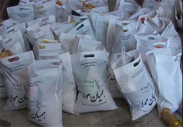توزیع ۱۲ هزار کیسه همیان مولا بین اصناف، خیران و مراکز نیکوکاری گلستان