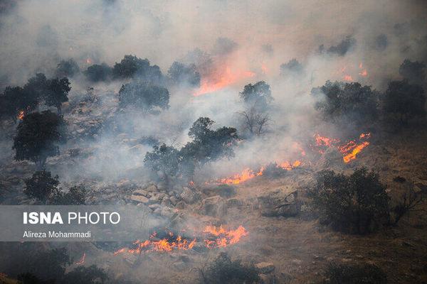 هشدار آتش سوزی در عرصه های طبیعی گلستان