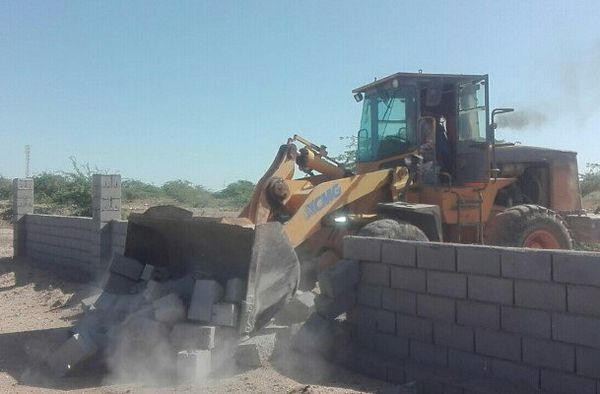 ۸۱ هزار مترمربع از اراضی ساحلی گلستان رفع تصرف شد