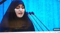 دختر سپهبد سلیمانی: پدرم به شوق شهادت با دشمنان پیکار کرد