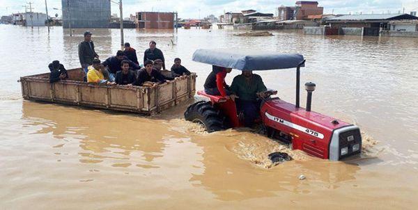 بیش از 3 هزار خانوار آسیب دیده از سیل استان زیر پوشش کمیته امداد رفتند