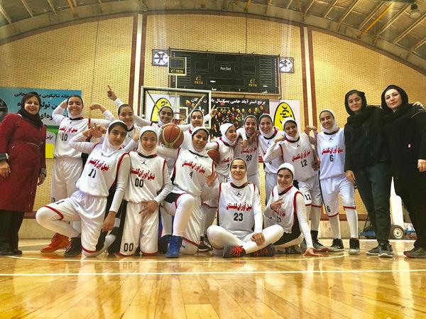 لیگ بسکتبال دختران نوجوان کشور در گرگان آغاز شد