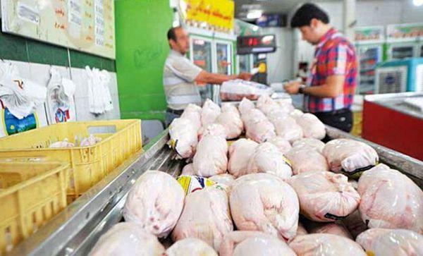 قیمت گوشت مرغ در بازار (۵ تیر ۹۹) + جدول