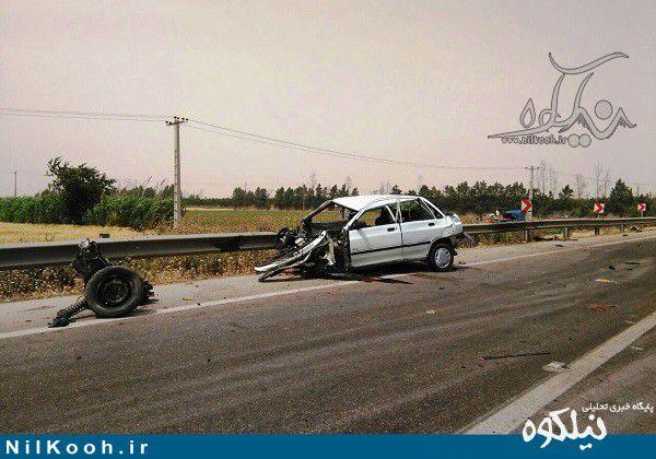 تصادف مینودشت