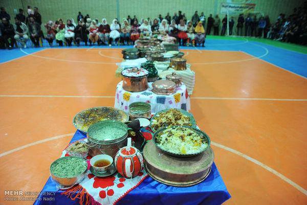 جشنواره فرهنگ آشپزی در آهنگر محله