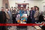 دیدار اهالی ورزش گلستان با خانواده شهید اسماعیل زاهد پور به روایت تصویر