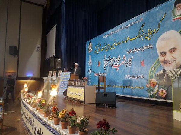 شهادت سردار سلیمانی سبب اتحاد مردم منطقه شد