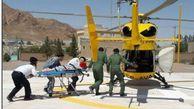نجات جان مصدومان گلستانی با حضور بهموقع اورژانس هوایی