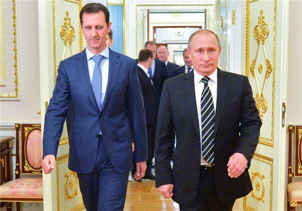 گفتوگوی تلفنی پوتین و بشار اسد درباره تحولات سوریه