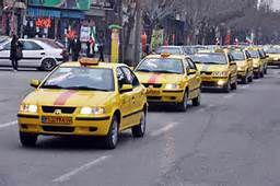 تجمع رانندگان معترض کردکویی به علت پایین بودن نرخ کرایه ها
