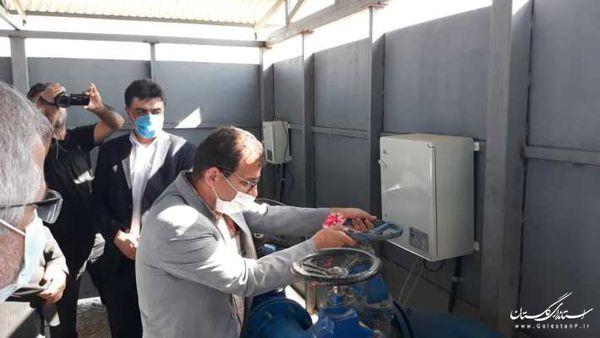 افتتاح 2 حلقه چاه آب شرب در گمیشان