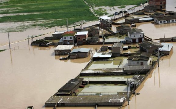 خسارت سیل به بیش از ۳هزار واحد مسکونی شهرستان گمیشان