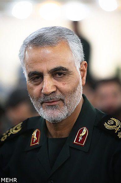 تصاویر جدید از حضور سردار سلیمانی در الانبار عراق