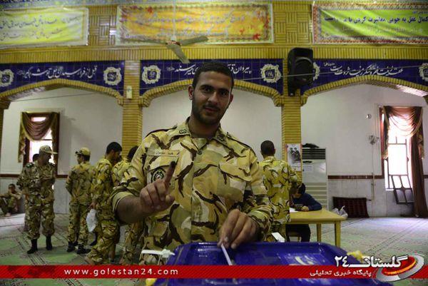 گزارش تصویری/ حماسه حضور مردم گرگان و آق قلا در انتخابات