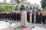 تصاویر/ نماز عید فطر ، عید بندگی در امامزاده عبدالله(ع) گرگان