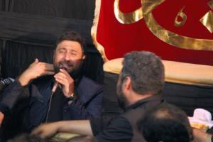 مداحی محمد علیزاده در هیئت+عکس