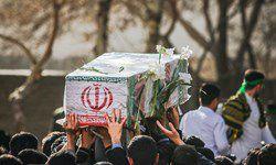 پیکر شهید نوچمنی در پرند تشییع شد