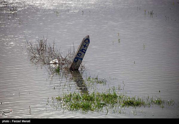 طغیان رودخانهها در گلستان؛ رواناب وارد بخشی از شهرهای نوکنده و آققلا شد