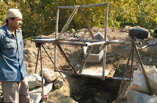 شناسایی و انتقال به پارکینگ 14 دستگاه ادوات حفاری غیرمجاز در گرگان و آققلا