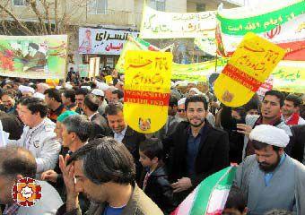 تصاویر/ راهپیمایی باشکوه 22 بهمن مردم آق قلا