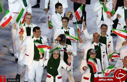 کاروان ایران در المپیک