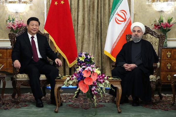 عکس/ دیدار خصوصی روسای جمهور ایران و چین
