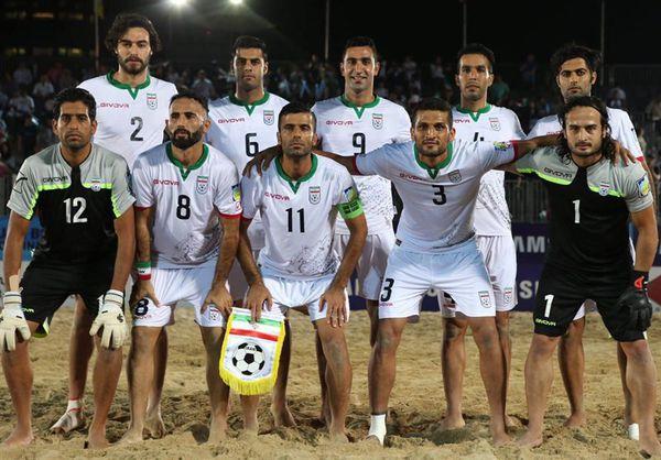 تیم فوتبال ساحلی ایران نایبقهرمان جام بینقارهای شد
