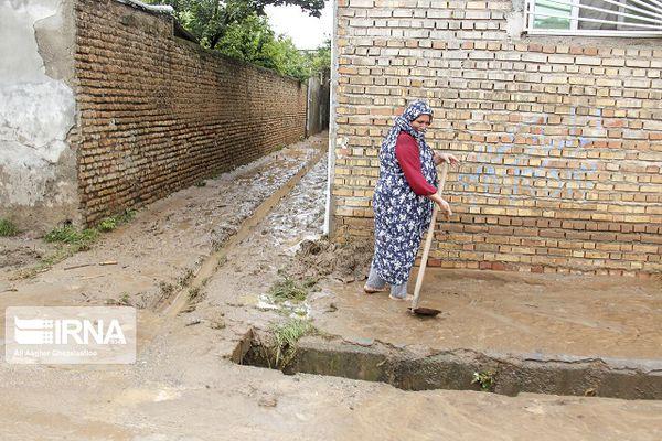 خسارت سیل به ۴۰۰ خانه در گلستان