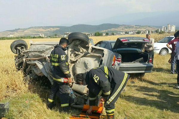 تعطیلات پرحادثه در استان / کاهش تصادفات جاده ای عزم جدی تری را می طلبد