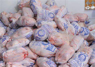 مرغ با قیمت ۶ هزار تومان در بازار گلستان توزیع شد